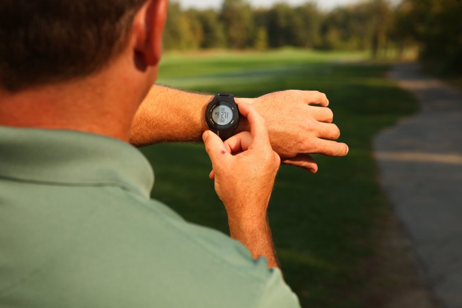 test montre gps de golf