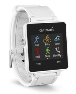 montre vivo active garmin blanche