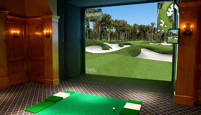 how does virtual golf work?