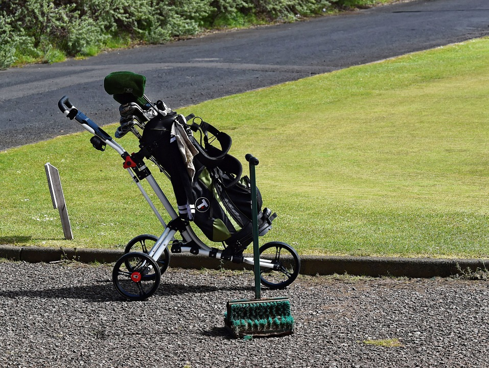Chariot de golf pas cher