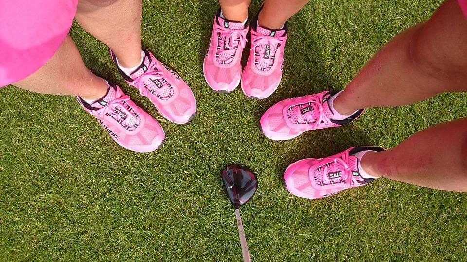 Chaussures golf femme