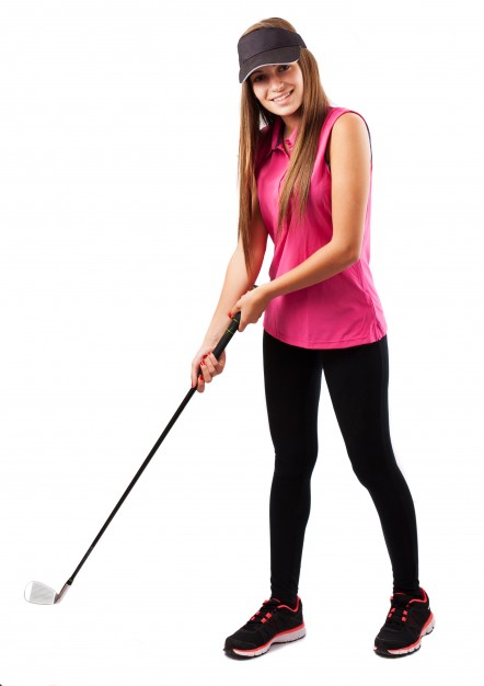 Polo golf femme