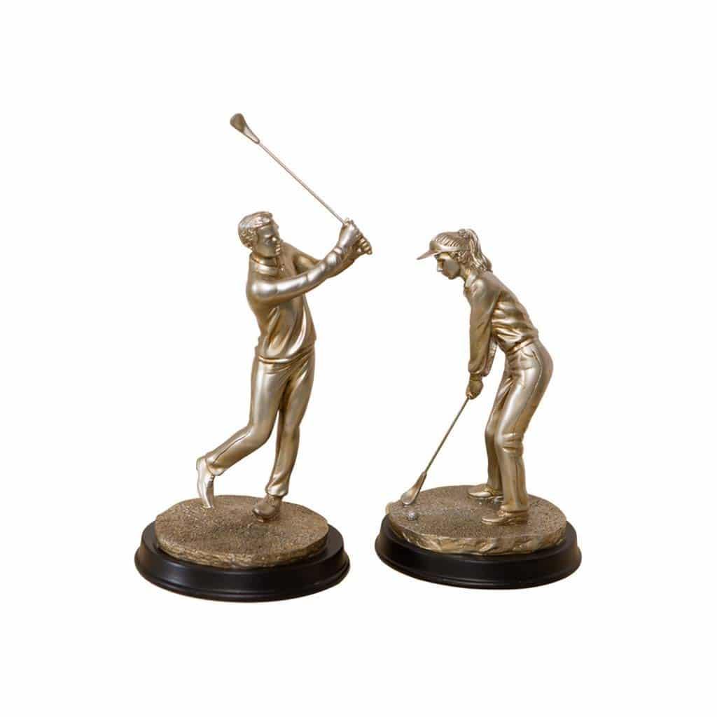 Statue golfeur XRBJ66